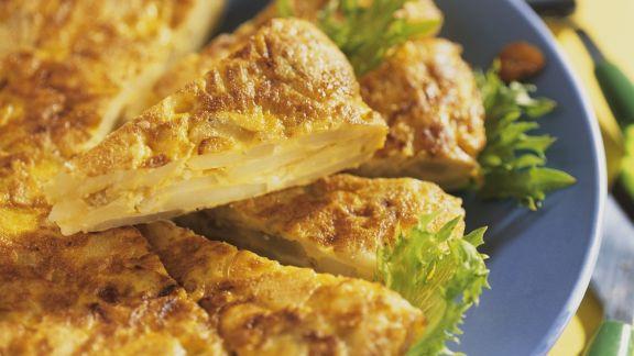 Rezept: Kartoffel-Tortilla aus Spanien