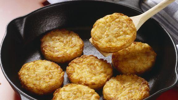 Rezept: Kartoffel-Zwiebel-Bratlinge