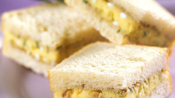 Rezept: Kartoffelcreme-Sandwich