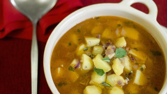 Rezept: Kartoffeleintopf mit Majoran