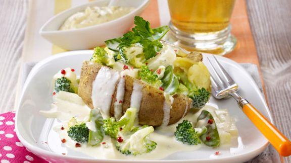 Rezept: Kartoffeln mit Sommergemüse