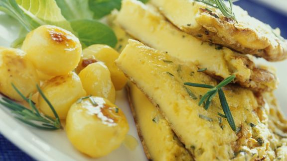 Rezept: Kartoffelomelett mit Rosmarin