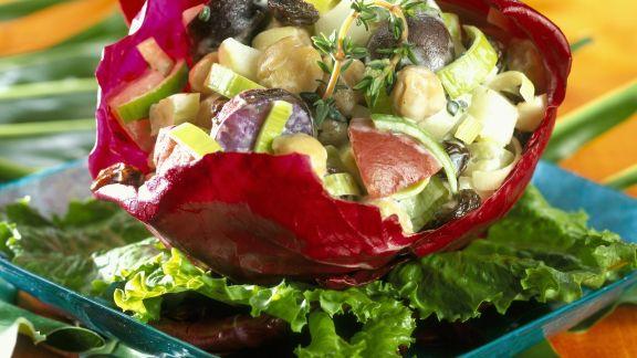 Rezept: Kartoffelsalat mit Gemüse