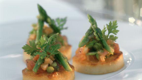 Rezept: Kartoffeltaler mit Gemüse