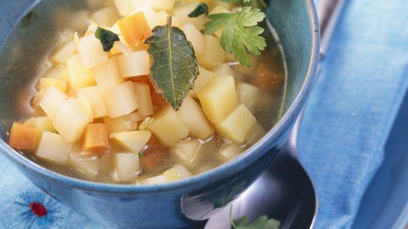 Rezept: Kartoffeltopf mit Steckrüben