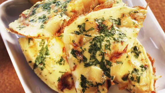 Rezept: Kartoffeltortilla