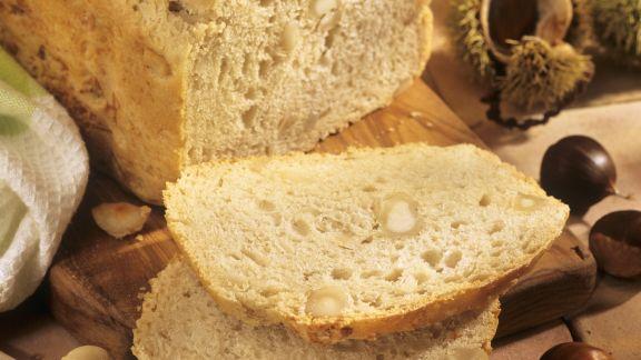 Rezept: Kastanien-Macadamia-Brot
