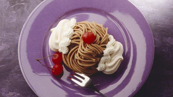 Rezept: Kastanien-Spaghetti