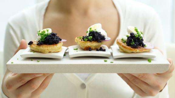 Rezept: Kaviar-Blinis – smarter