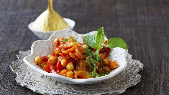Rezept: Kichererbsen-Tomaten-Curry