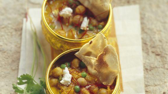 Rezept: Kichererbseneintopf nach indischer Art