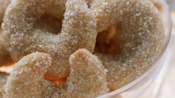 Rezept: Kipferl mit Honig