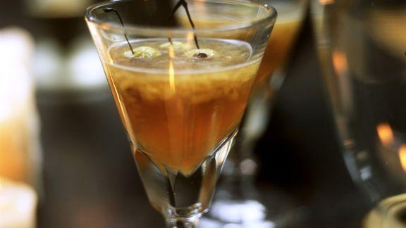 Rezept: Kirsch-Calvados-Punsch