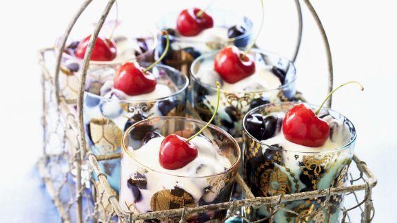 Rezept: Kirschen-Trifle