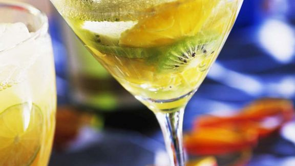 Rezept: Kiwi-Orangen-Drink