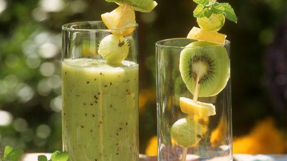 Rezept: Kiwi-Smoothie