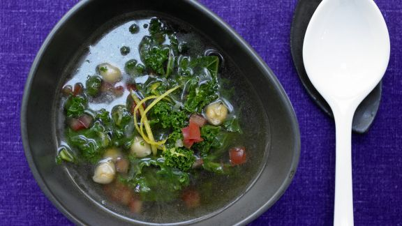 Rezept: Klare Grünkohlsuppe