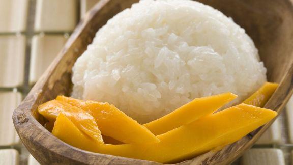 Rezept: Klebreis mit Mango