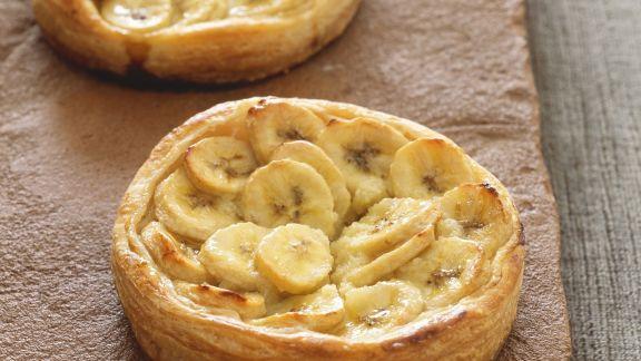 Rezept: Kleine Bananenkuchen