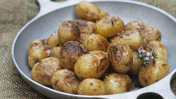 Rezept: Kleine Bratkartoffeln mit Thymian