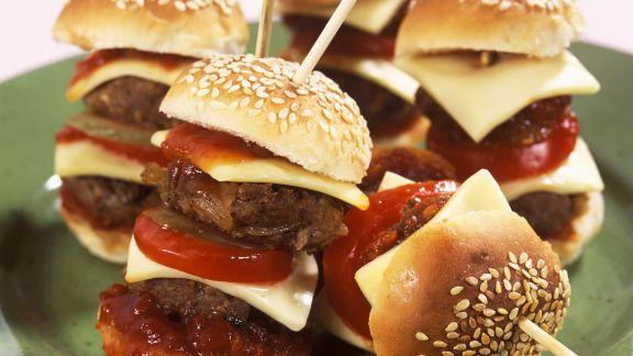 Rezept: Kleine Cheeseburger