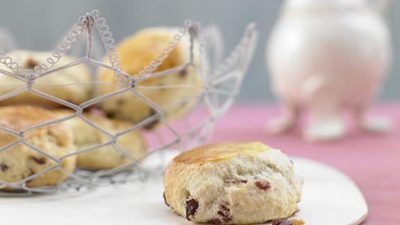 Rezept: Kleine Cranberry-Kuchen