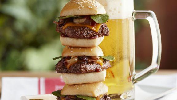 Rezept: Kleine Hamburger