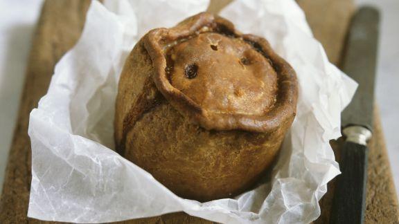 Rezept: Kleine Pastete mit Schweinefleisch