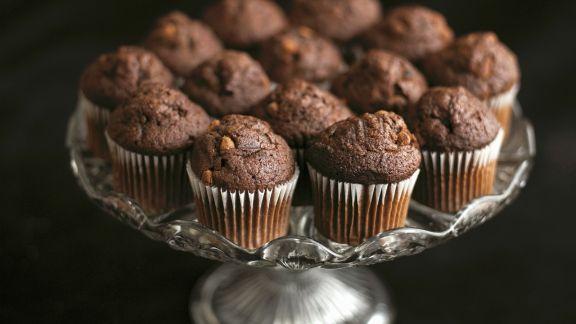 Rezept: Kleine Schokoladenmuffins