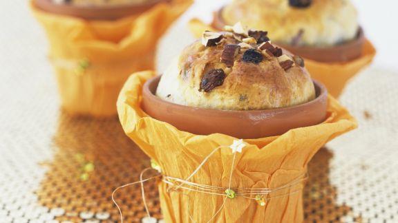 Rezept: Kleiner Kuchen im Blumentopf