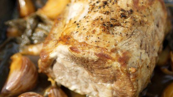Rezept: Knoblauch-Schweinelende