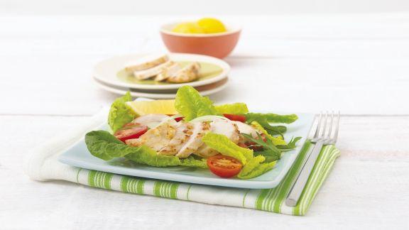 Rezept: Knofi-Hähnchen mit Zitrone