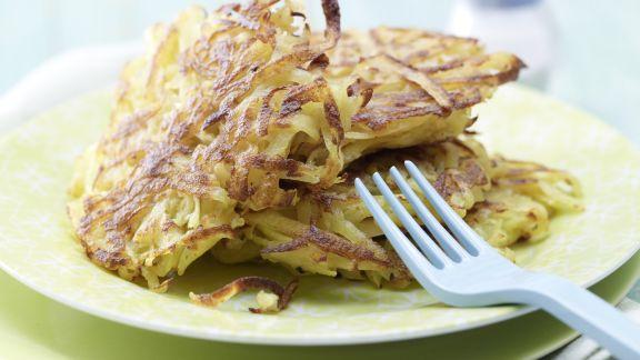 Rezept: Knusprige Kartoffelrösti