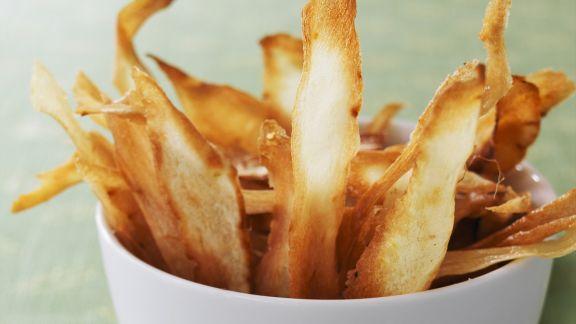 Rezept: Knusprige Pastinaken-Chips