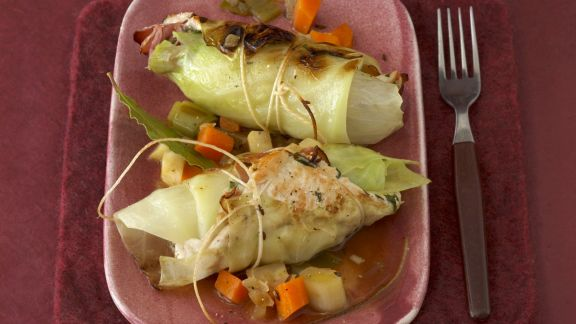Rezept: Kohlroulade mit Kartoffelpüree