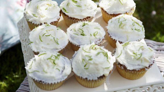 Rezept: Kokos-Cupcakes mit Limette