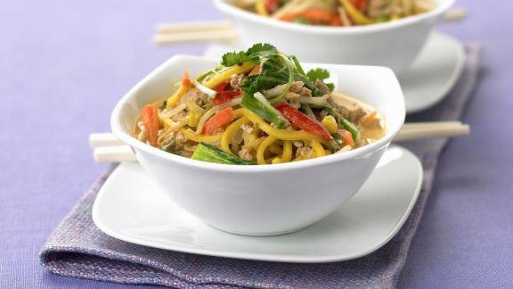 Rezept: Kokos-Hähnchen-Curry