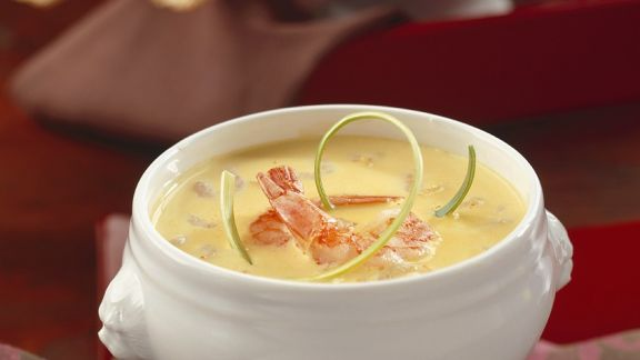 Rezept: Kokos-Shrimpssuppe