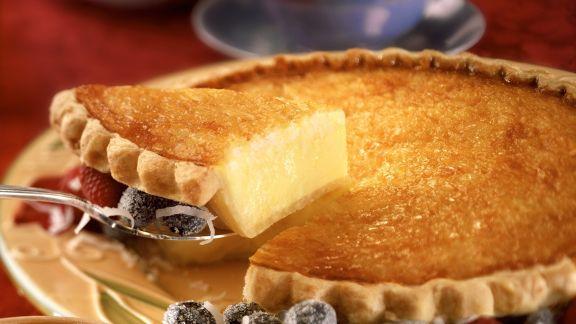 Rezept: Kokos-Vanille-Tarte