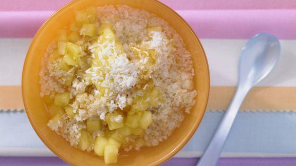 Rezept: Kokosmüsli mit Ananas