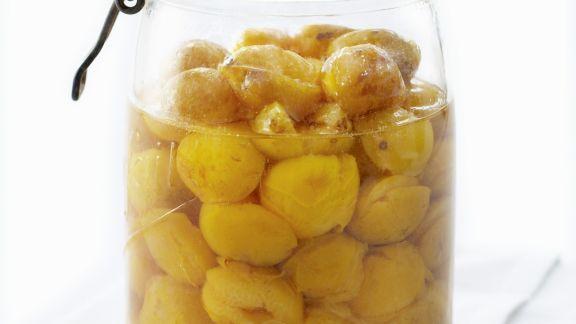 Rezept: Kompott aus Mirabellen