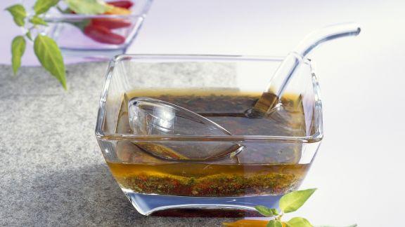 Rezept: Koriander-Chili-Vinaigrette