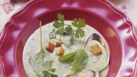 Rezept: Kräuter-Gemüse-Suppe aus der Schweiz
