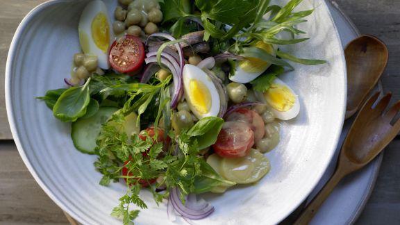Rezept: Kräuter-Kartoffel-Salat