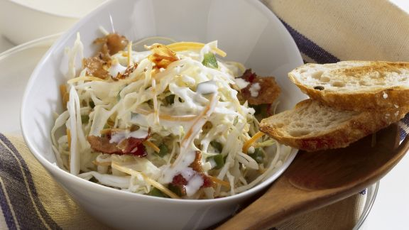 Rezept: Krautsalat mit Mayo-Dressing
