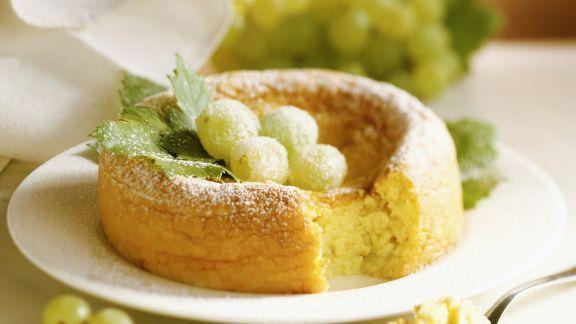 Rezept: Kuchen mit Weintrauben