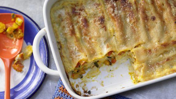 Rezept: Kürbis-Cannelloni