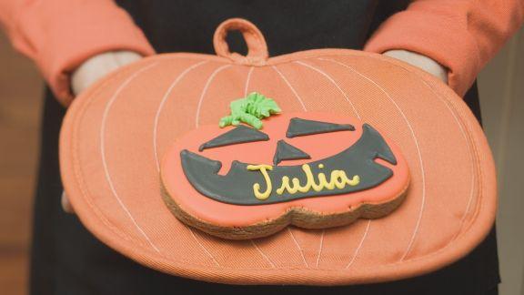 Rezept: Kürbis-Keks zu Halloween