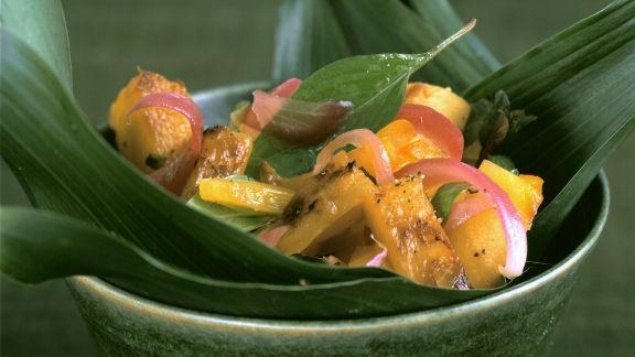 Rezept: Kürbisgemüse auf karibische Art