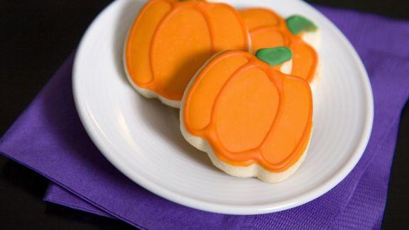 Rezept: Kürbiskekse für Halloween